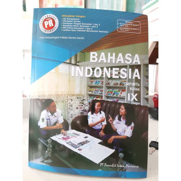 Pr Bahasa Indonesia Kelas 9 Smp Mts Intan Pariwara Revisi Shopee Indonesia