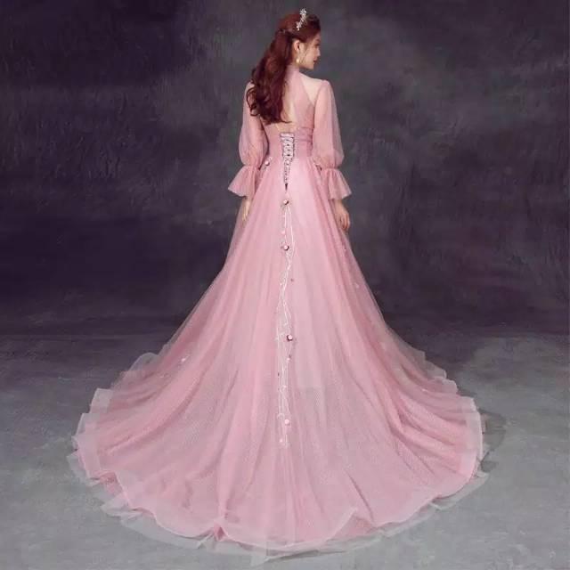 Gaun Pengantin Pink Wedding Dress Pink Shopee Indonesia