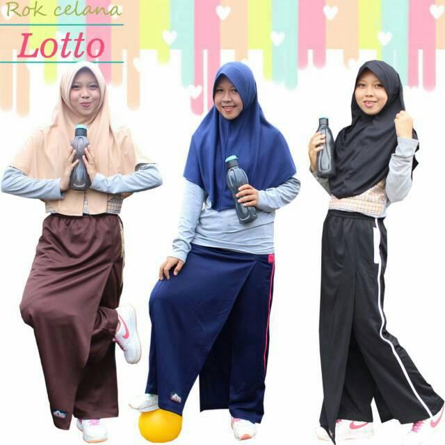lihat Rok Celana Training Muslimah Shopee Indonesia