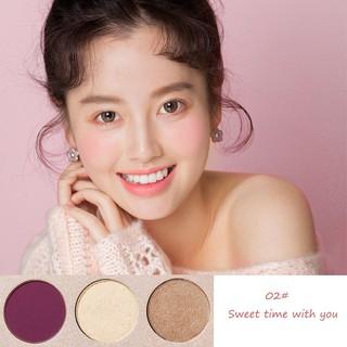 Pretty Comy Makeup Blush On Palet 3 warna Blush Highlight Makeup 5