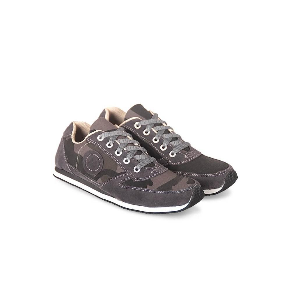 Sepatu Olahraga / Running Kasual Pria abu Java Seven IDR 003 murah | Shopee Indonesia