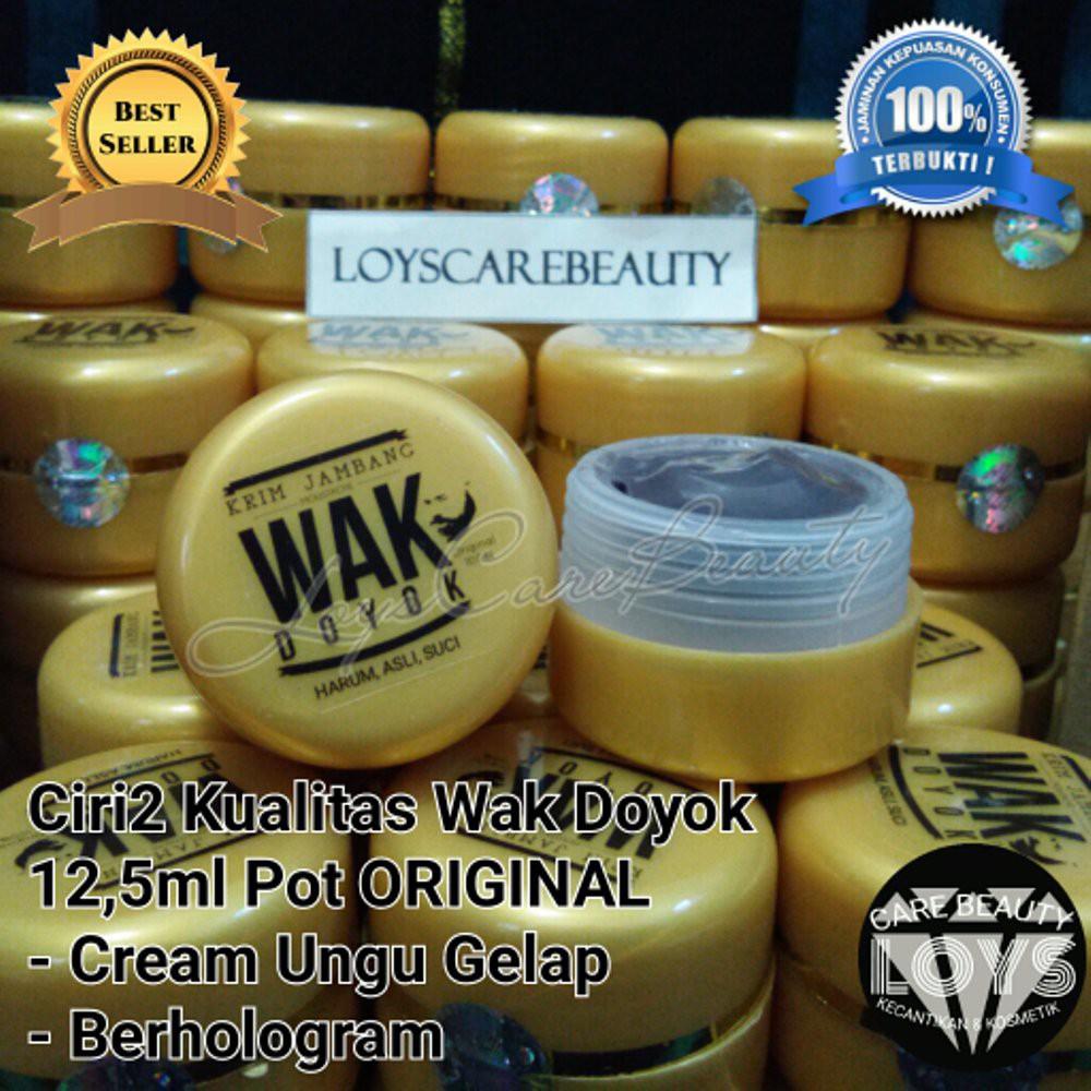 Jual Wak Doyok Semple 12 5ml 30gr Original 100 Cream Jambang Rambut 75 Ml Krim Jenggot Kumis Alis Termurah Shopee Indonesia