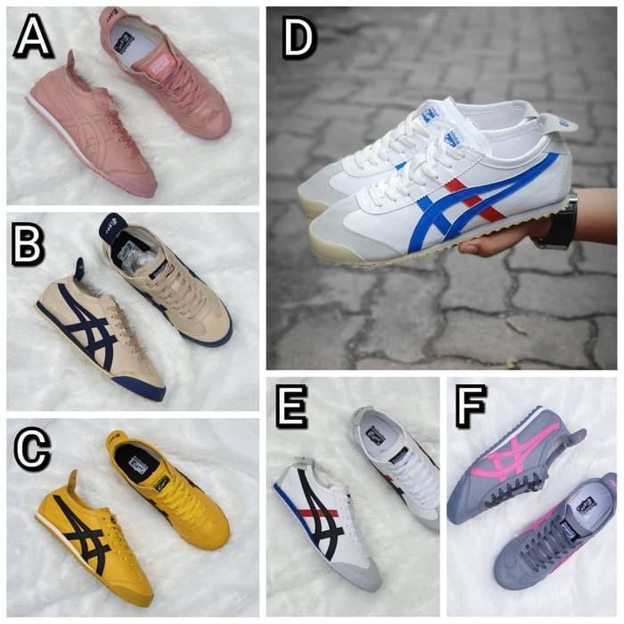 Sepatu Asics Onitsuka Tiger Wanita Tali 36 40 Shopee Indonesia