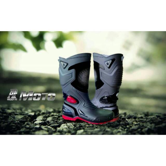 Sepatu AP Boot MOTO 3  068cca36d5