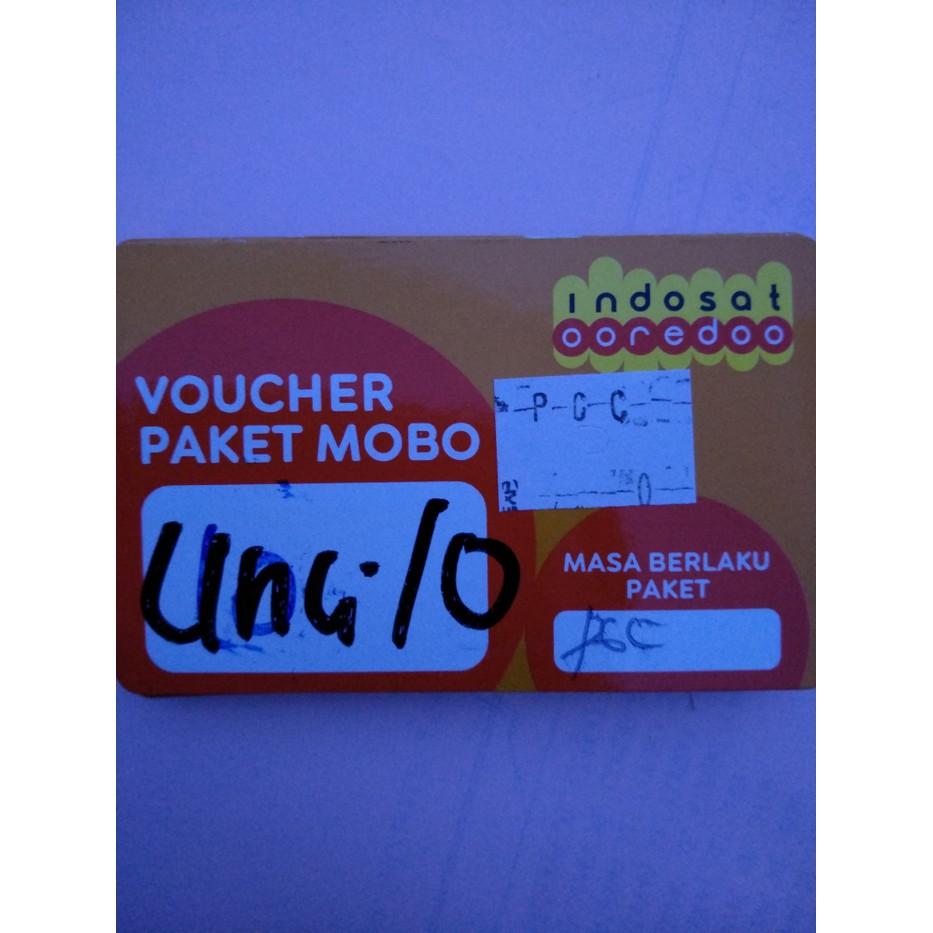 Indosat Voucher Internet Data 10gb Unlimited App Shopee Indonesia 25k