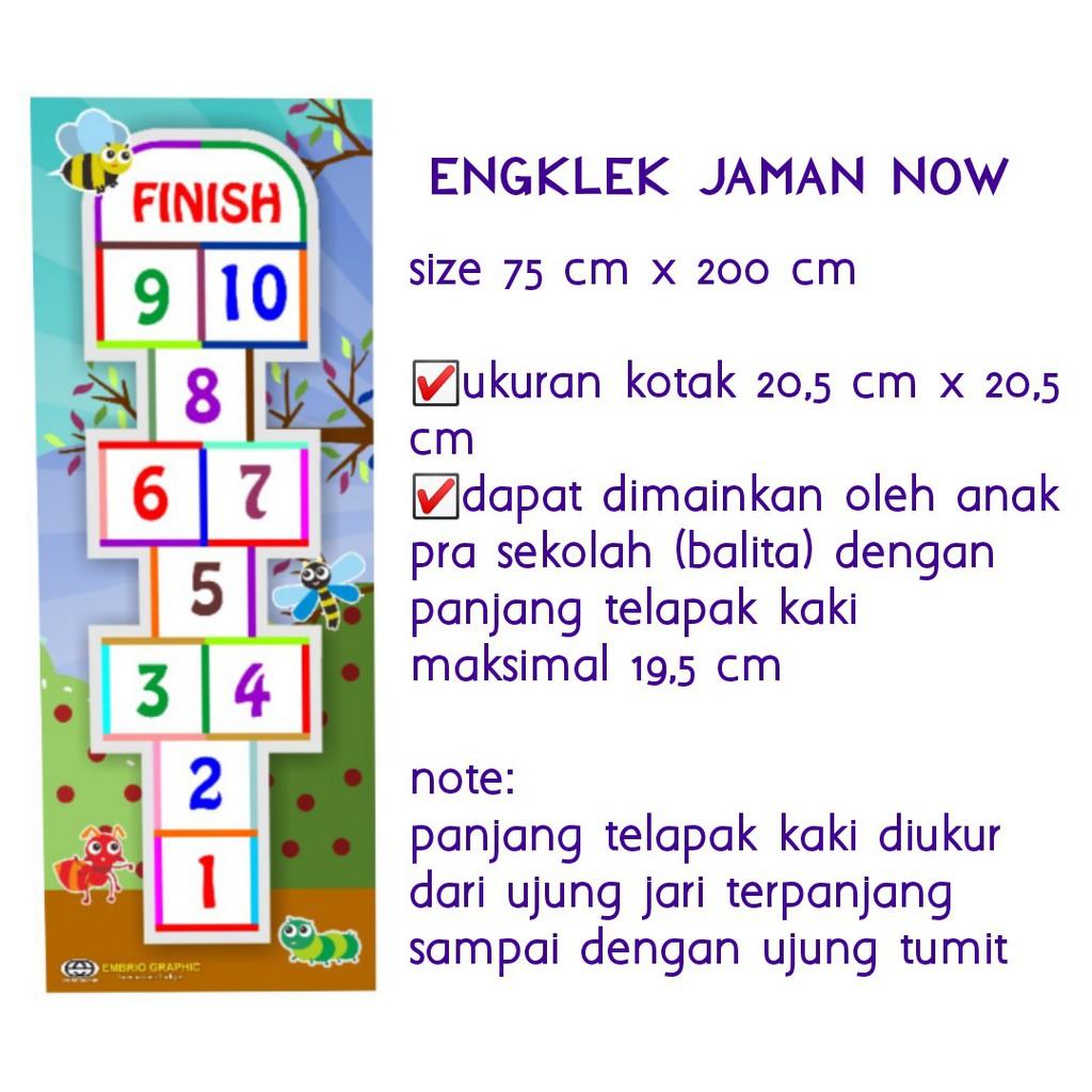 Permainan Tradisional Engklek Setatak Tejek Tejekan Marsitekka Zaman Now Shopee Indonesia