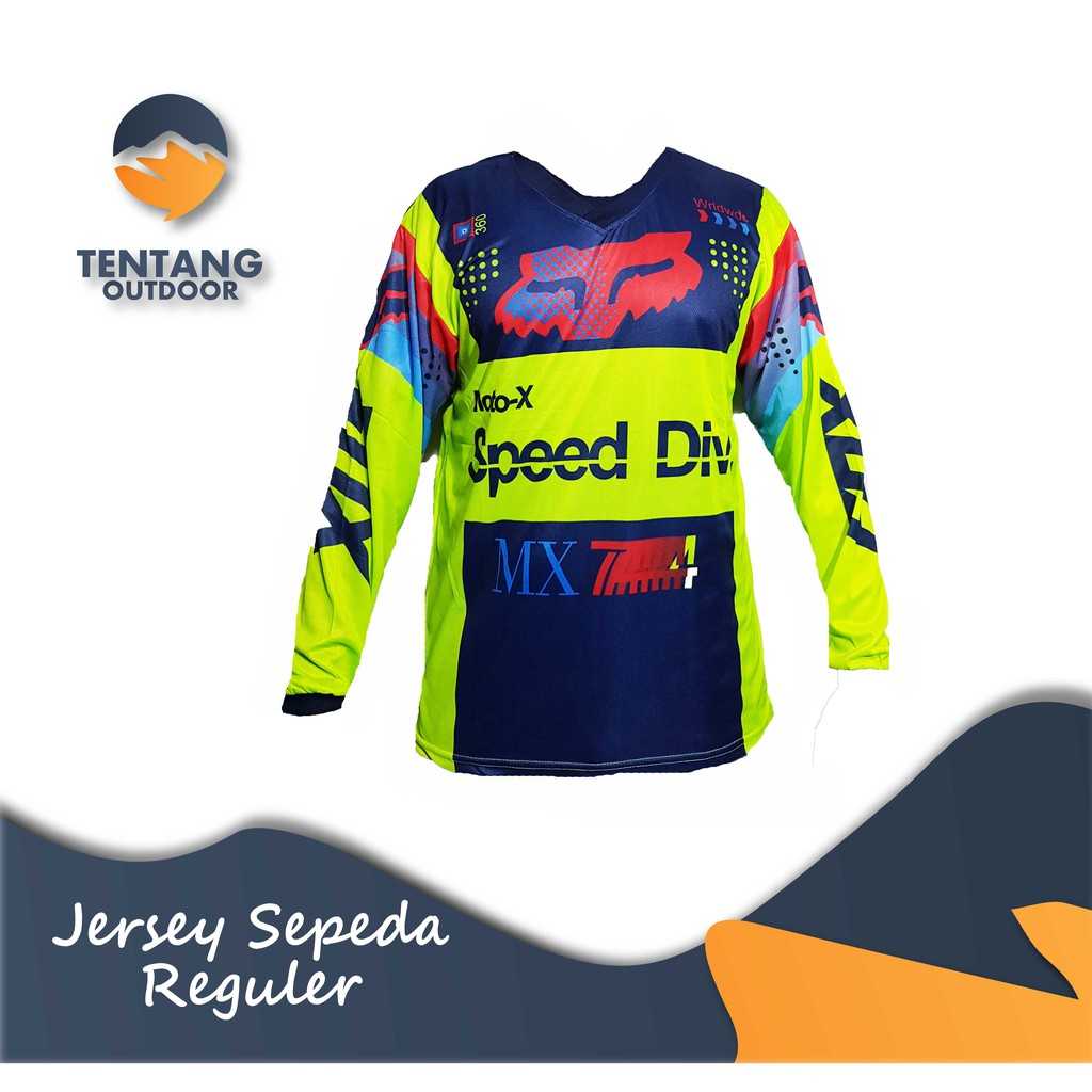 Kaos Jersey Sepeda Gowes Motor Cross Trail Downhill