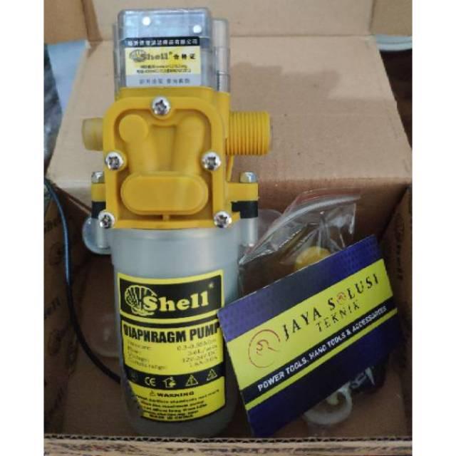 Shell Pompa Air Mini High Pressure Car Washing Water Dc Pump 12v Shopee Indonesia