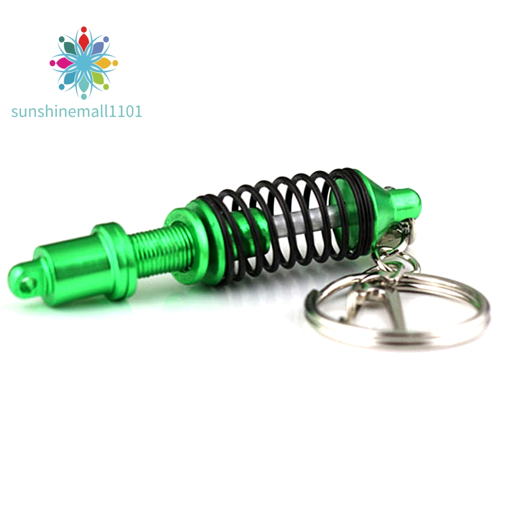Tuning Parts Accessories Motorcycle Key Chain Key Ring Shock Absorber Pendant