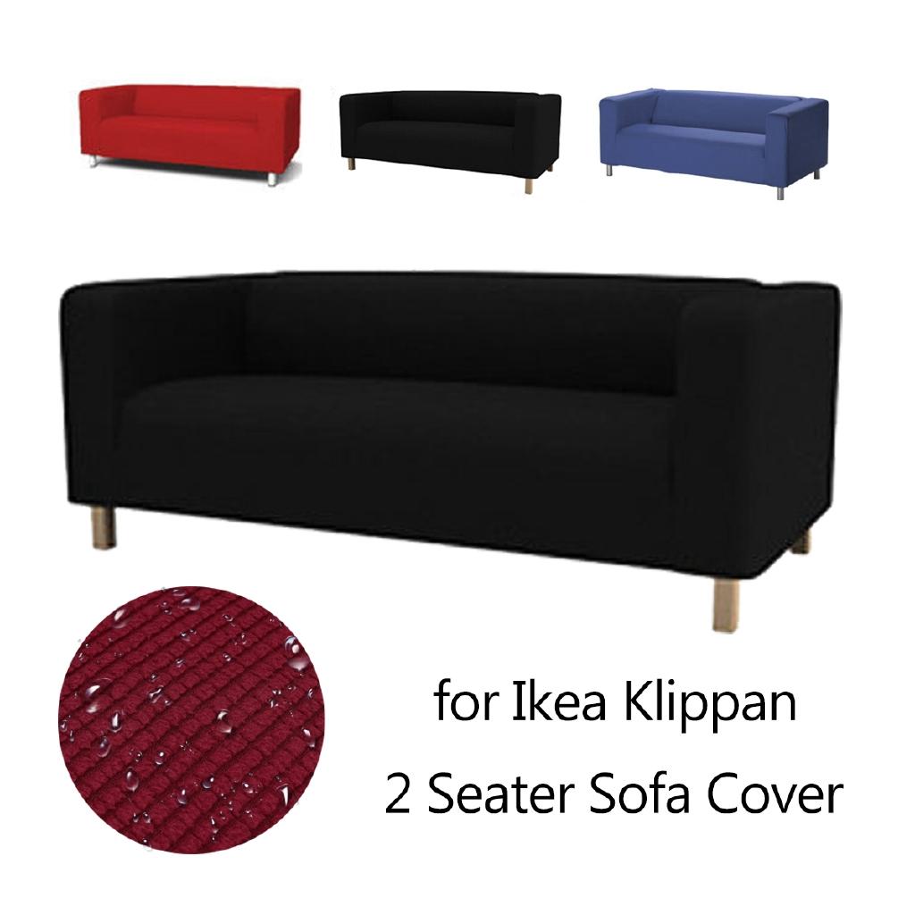 Cover Sofa 2 Kursi Bahan Katun Untuk