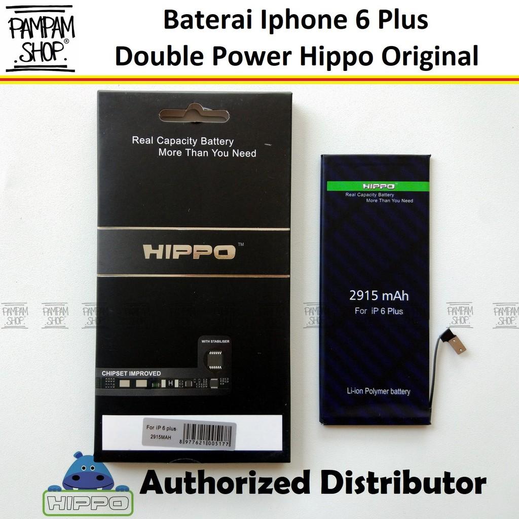 Baterai Hippo Double Power Original Apple Iphone 6S Plus 6S+ Batre Batrai  Dual Handphone HP Hipo Ori  51858aa17f