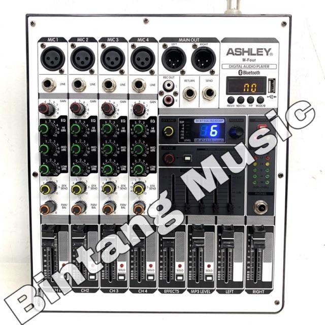 Mixer audio ashley m four / mixer audio ashley mfour / mixer m four original