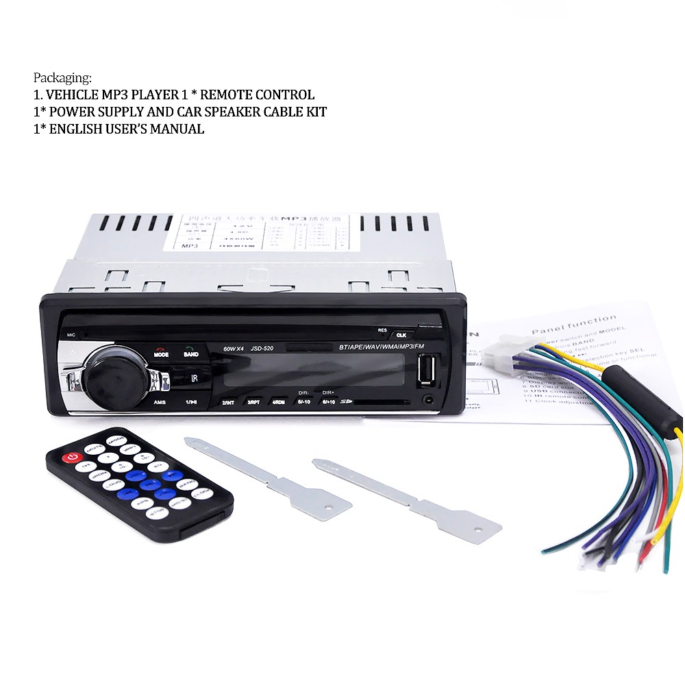 【 Style 】】 5983 Radio MP3 Player Mobil 12V Mendukung FM SD AUX USB  