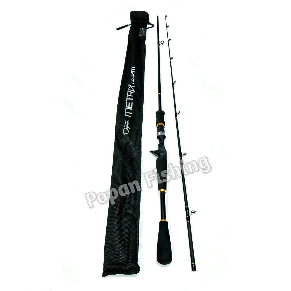 Joran Bc Oyama Metrix 602 Shopee Indonesia Kenzi Torzite Light Cast 165 Rod Casting