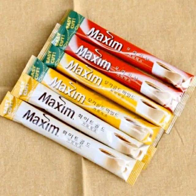 Maxim Coffee Korea / Kopi Korea Maxim