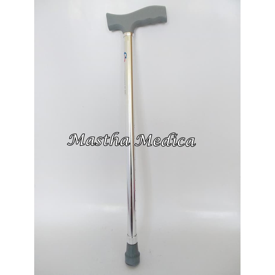 [BIG SALE] Tongkat Jalan Lipat Dengan Senter Led Tongkat Multifungsi / Trusty Cane Lighted Crutch | Shopee Indonesia