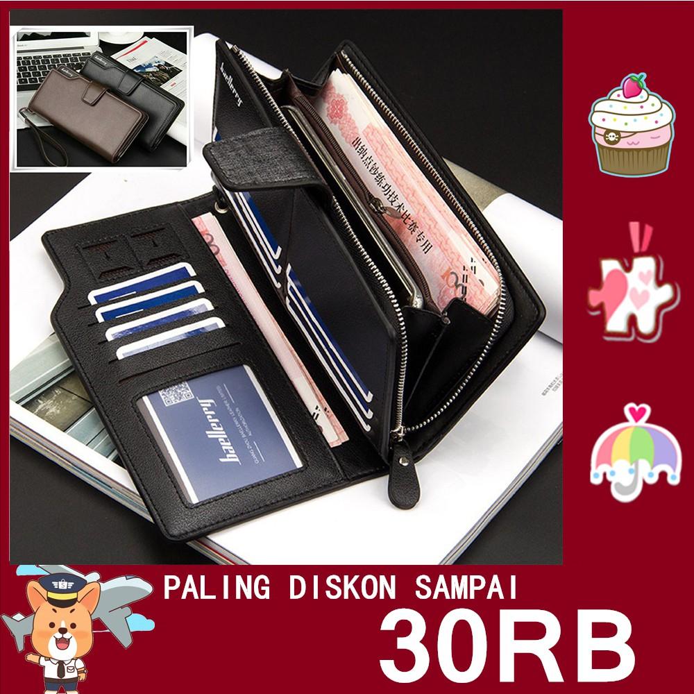Dompet Baellerry Panjang 22 Slot Import Termurah Unisex Cowok Pria Kulit Kartu Wallet Shopee Indonesia