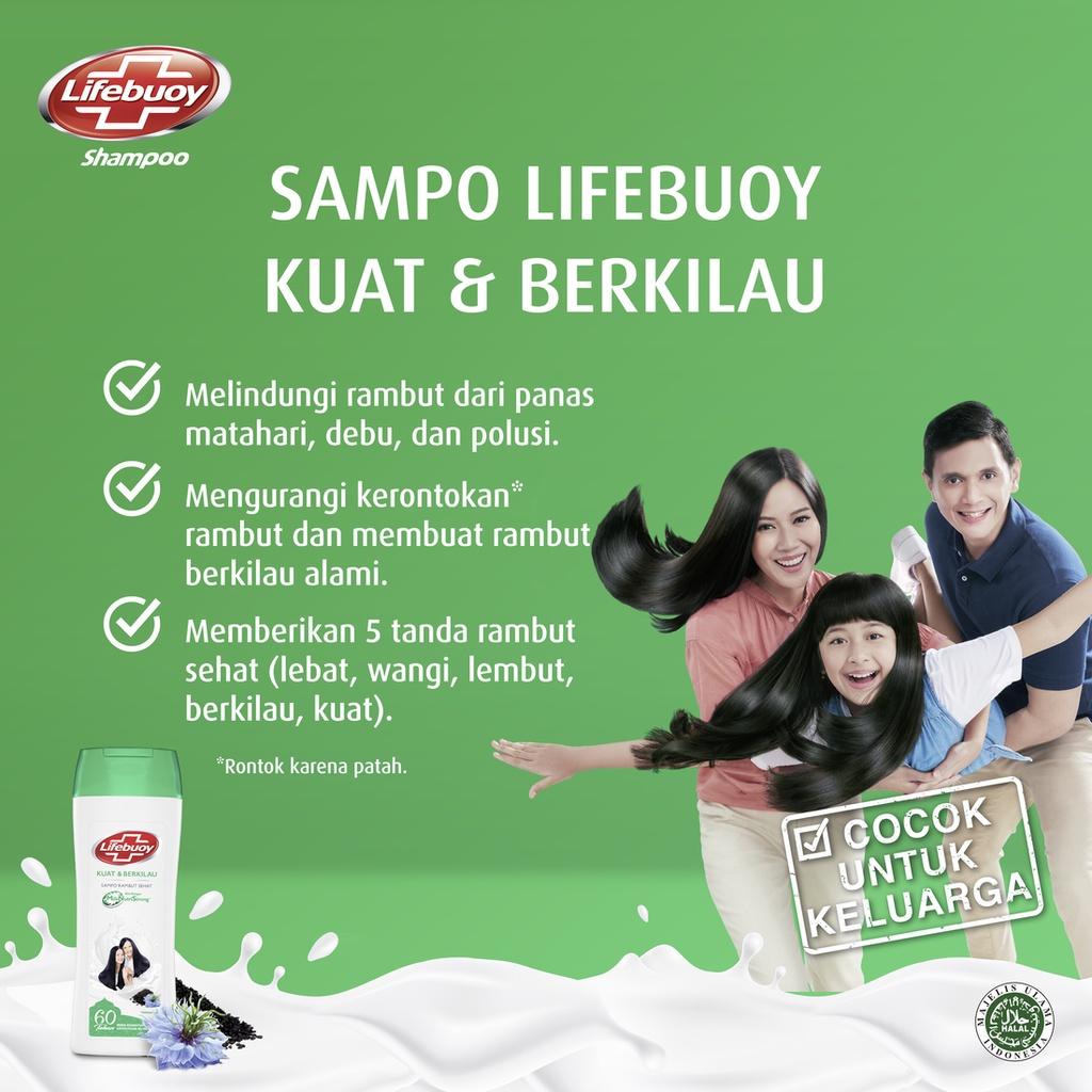 Lifebuoy Shampoo Strong And Shiny 680 Ml - Perawatan Rambut Berkilau-4