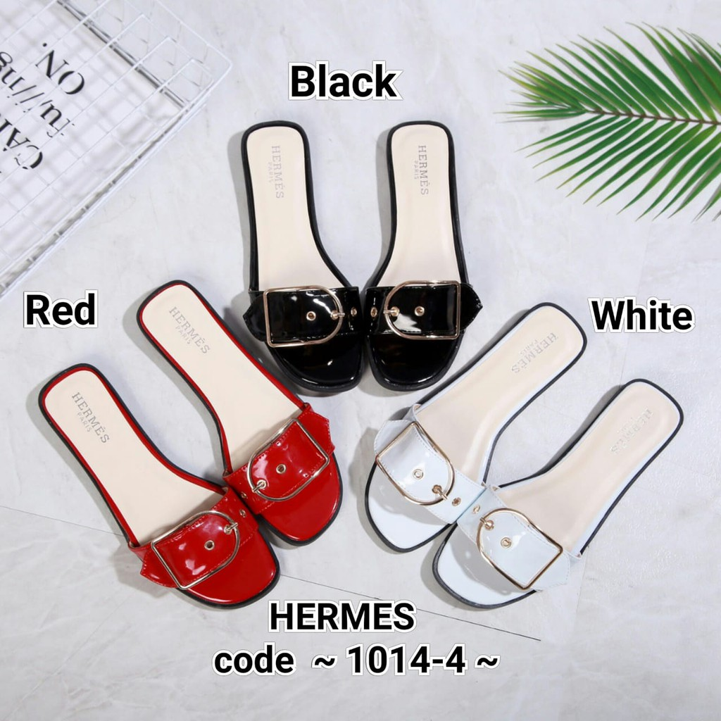 3d8f9b2cdb6 BISA TAWAR -10  99Y H ORAN Glossy Sandals 83-196 UP