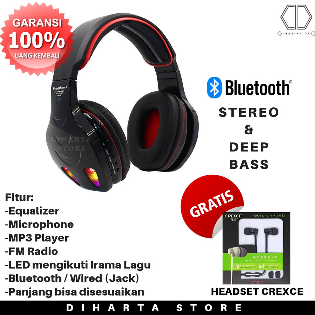 Bluetooth Temukan Harga Dan Penawaran Online Terbaik September Handsfree Miooz B02 V 41  Black 2018 Shopee Indonesia