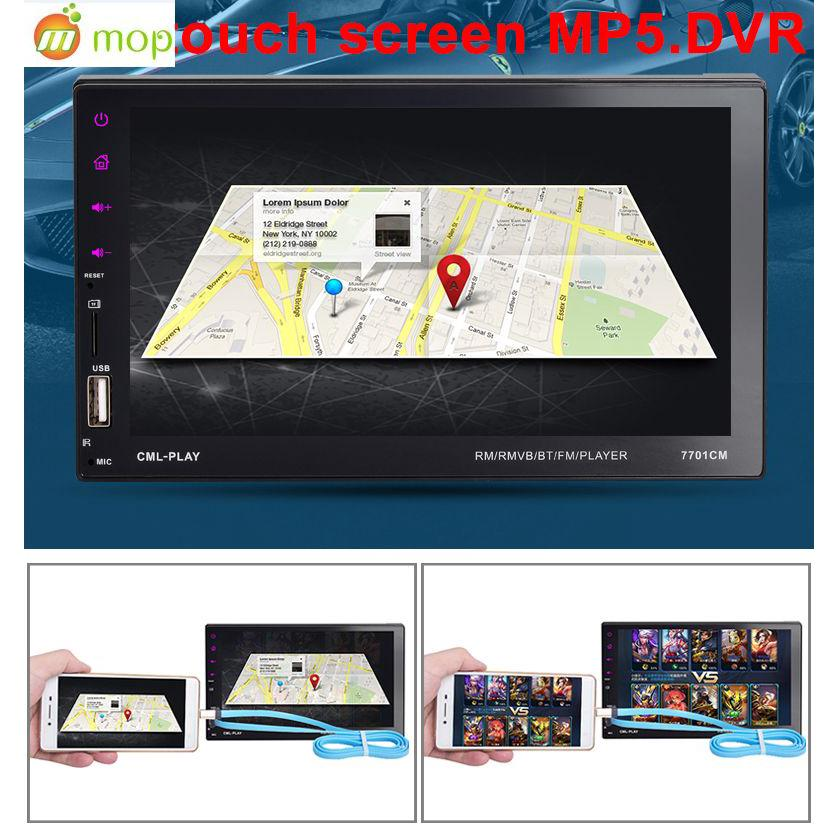 CC-FG - 7021G Headunit 2Din 7Inch dengan Bluetooth+GPS Map+