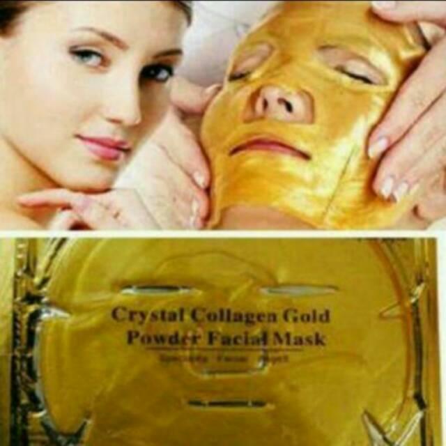 Masker Wajah 24K Gold Collagen Peel Off Anti Kerut / Penuaan Memutihkan | Shopee Indonesia