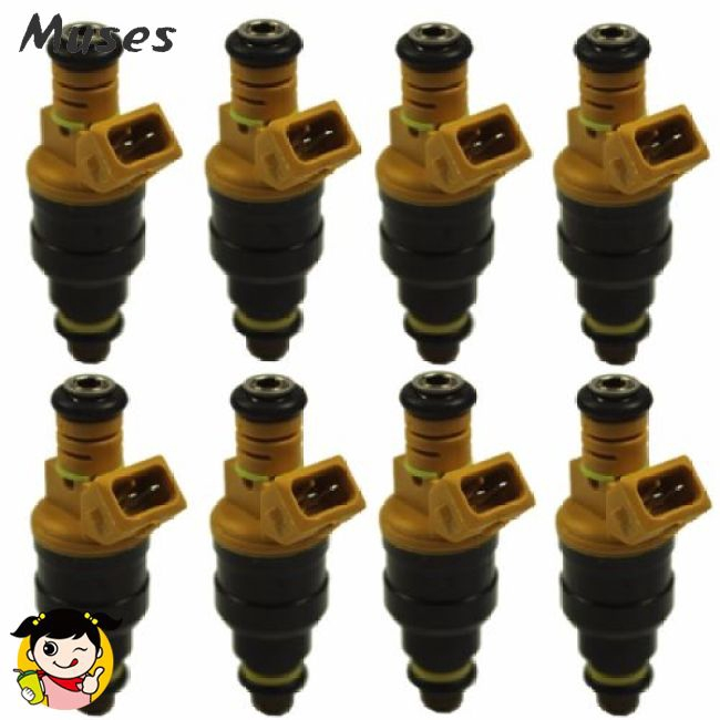 New Set 8 Fuel Injectors for Ford 4.6 5.0 5.4 5.8 Replaces 0280150943