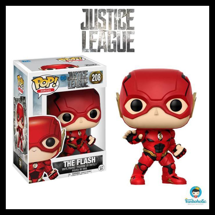 Funko Pop 2017, Toy NUEVO Justice League The Flash DC Keychain: