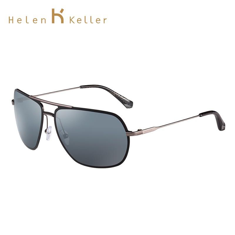 Helen Keller   Kacamata Hitam Pria   Sunglasses   H1366MT-P01   Silver  7a999460c5