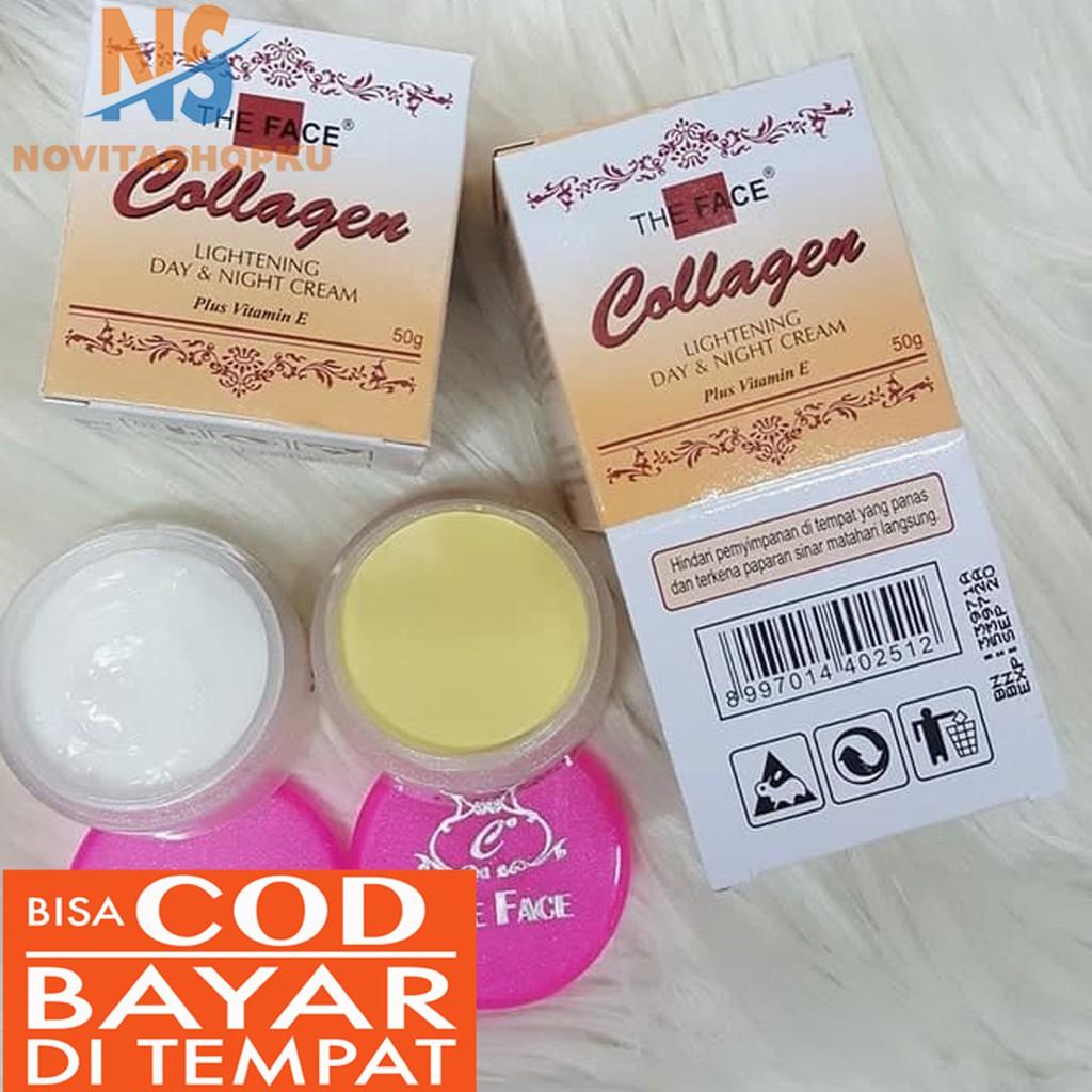 Paket Cream Colagen Plus Sabun Set Krim Kolagen Collagen ...