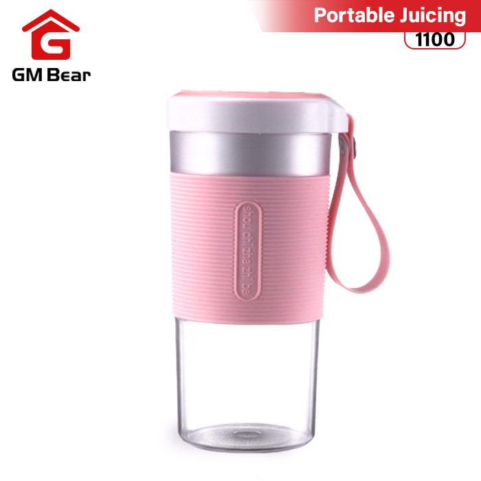 GM Bear Portable Blender USB Rechargeable Juicer Cup
