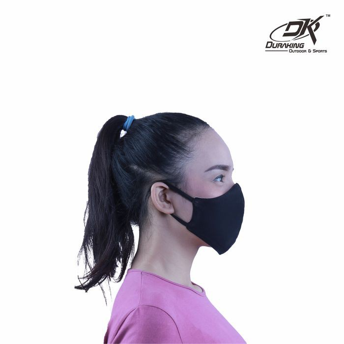 Masker Kain Anti Virus DK DOUBLE PROTECTION EARLOOP MASK COLOUR #1