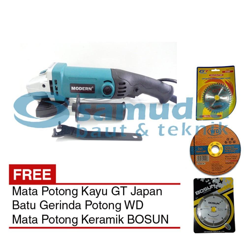 Modern Sim 100b Mesin Gerinda 4 Mata Potong Kayu Besi Keramik Gergaji Inch Fujiyama Multi Cutter Shopee Indonesia