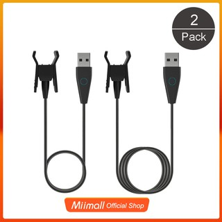 2Pcs Fitbit Alta HR Charger with Reset Button USB Charger (50cm+100cm)