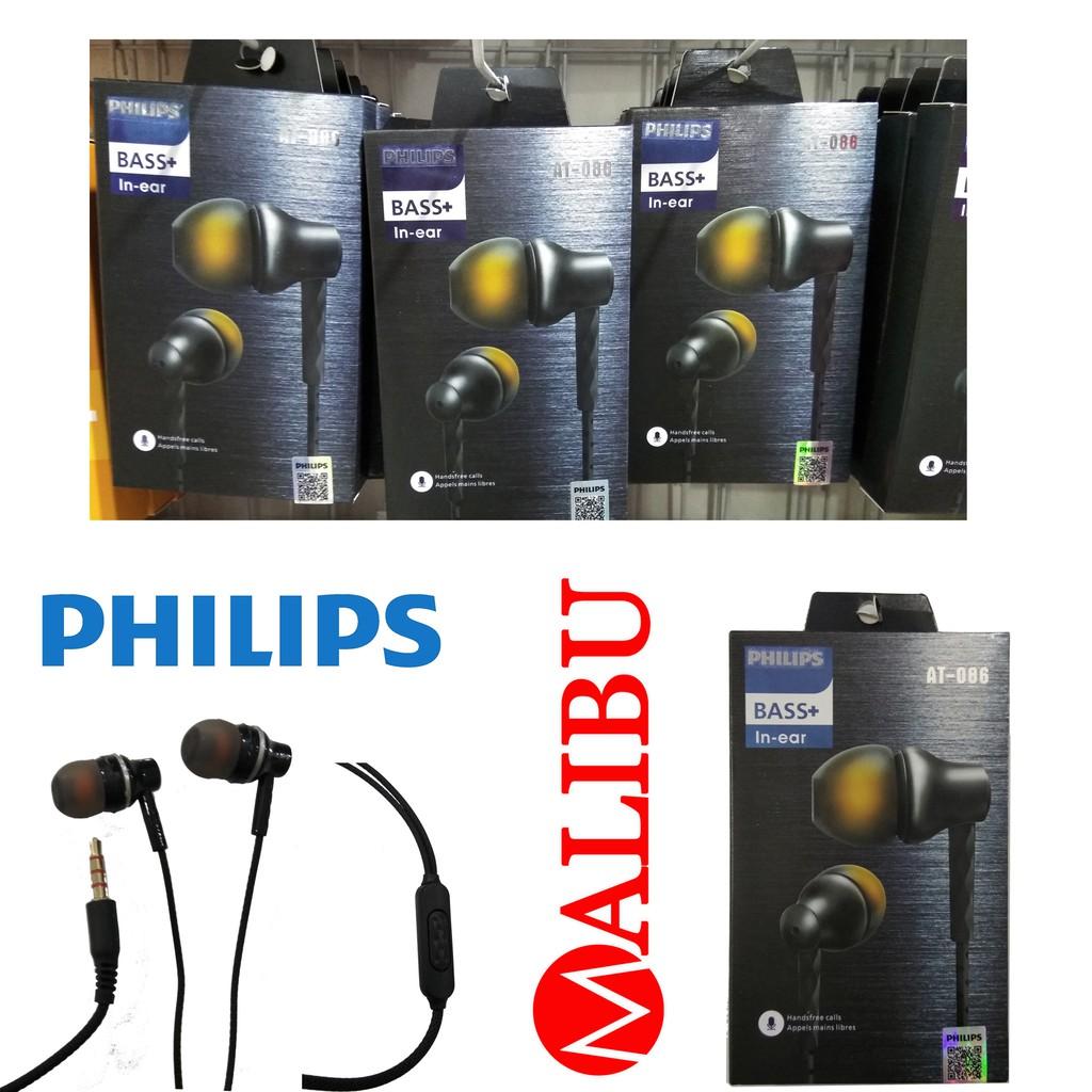 HF Handsfree Headset earphone Philips AT-086