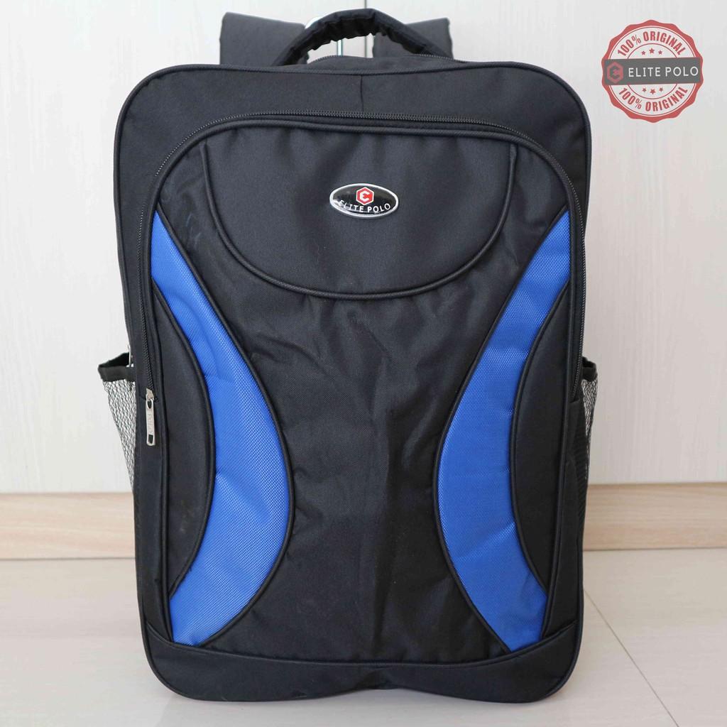 Jual Tas Ransel Backpack Sporty Elite Polo Original Kuat Berkualitas ... 000c3a0986