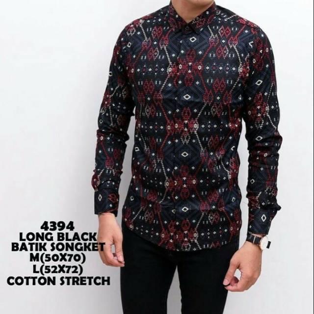 Batik Mutiara Black Best Seller