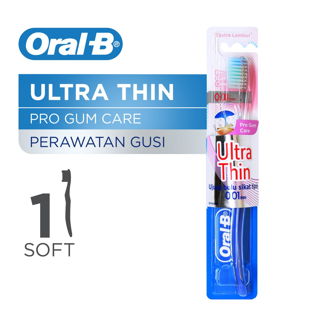 Oral B Sikat Gigi Prohealth Clinical Adult 38 Soft 3CT Blister Card Isi 3   P G   d776f7db0f