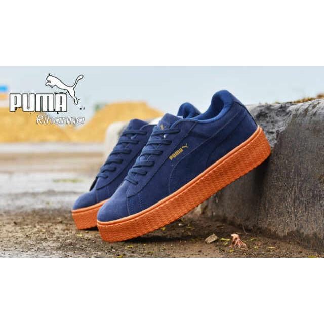 Sepatu Puma Fenty Rihanna For Women - Hitam Polos   Sepatu Casual   Sekolah   40a4f23de9