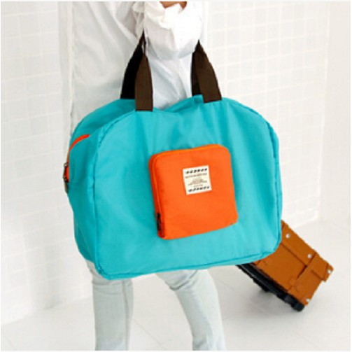 tas fordable bag travel traveling tas hand carry tas lipat bagasi tas belanja A3
