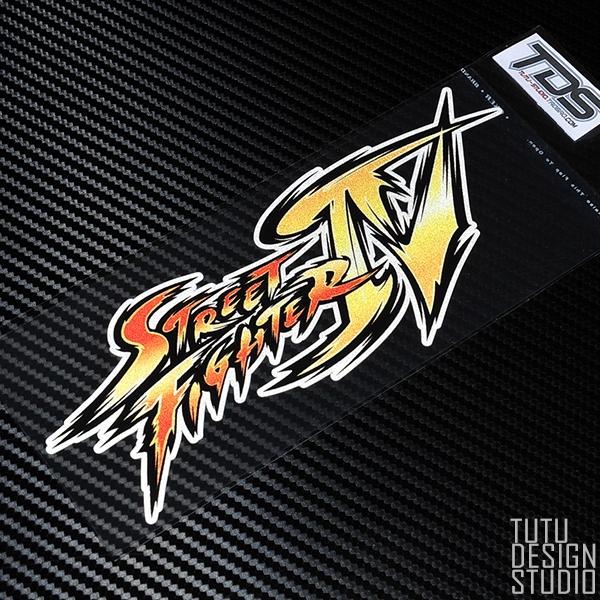 Tutu Tutu Car Sticker Street Fighter Street Fighter Iv Game