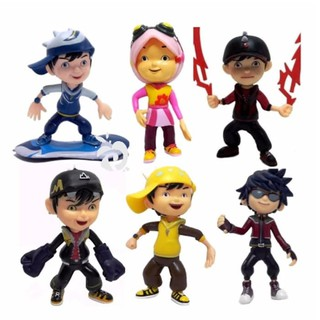 Dijual Action Mini Figure Pajangan Miniatur Mainan Anak BoboiBoy Boboi Boy  Berkualitas f794e34d26
