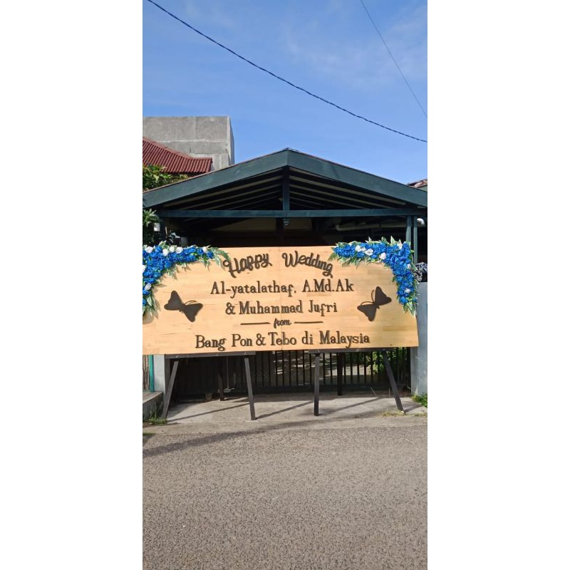 Papan Bunga Rustic Ukuran 2 Papan Gandeng 2 Area Lhokseumawe Dan Aceh Utara Shopee Indonesia