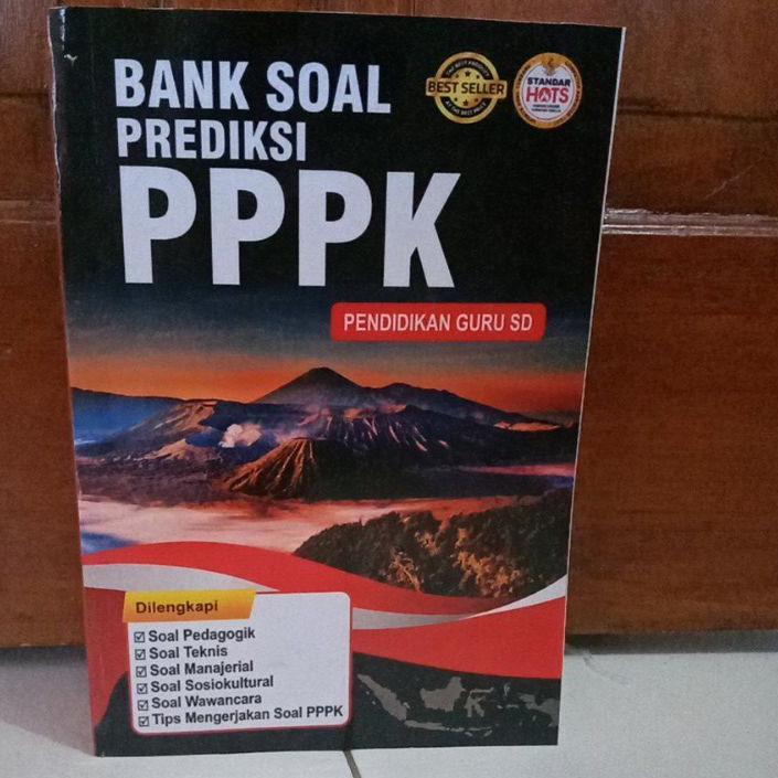 Flash Sale - BANK SOAL PREDIKSI PPPK PENDIDIKAN GURU SD !!