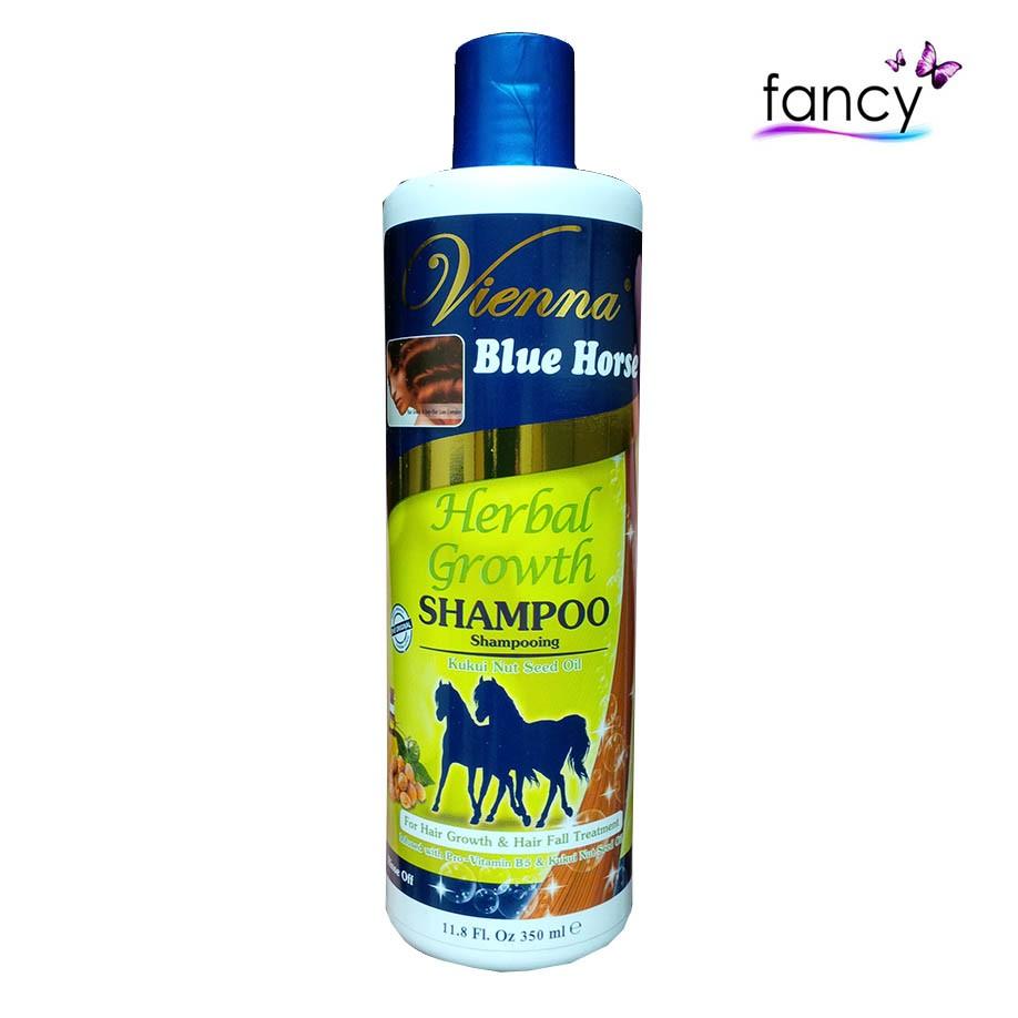 Vienna Shampo Kuda 350 ML Herbal Growth / Nourish  /Silky / Hair Fall / 2in1-2