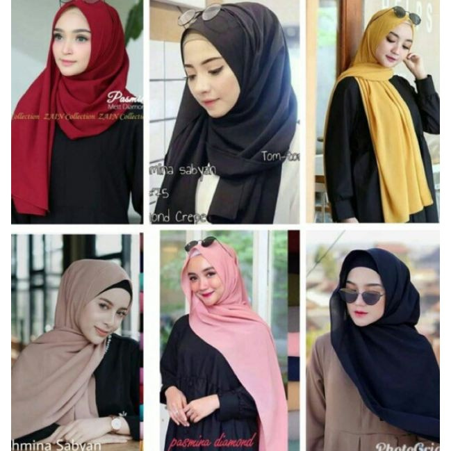 Contoh Soal Dan Materi Pelajaran 5 Model Hijab Diamond