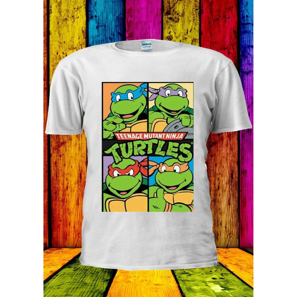 Kaos T Shirt Model Gambar Teenage Mutant Ninja Turtles All