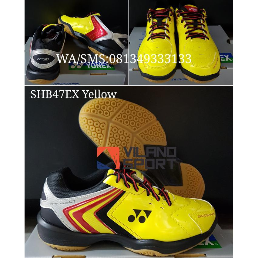 Best Sellerr Sepatu Badminton Yonex Shb 47 Ex