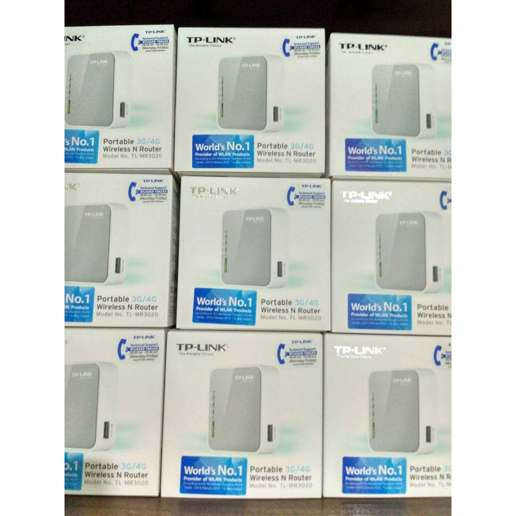 Tp Link Portable 3g 4g Wireless N Router Tl Mr3020 Shopee Indonesia