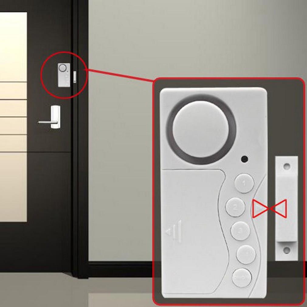 Alarm Anti Maling Jendela Kaca Pintu Rumah Toko Atau Gudang Cek Hpr186 Sensor Keamanan Pencuri Door Alaram Shopee Indonesia